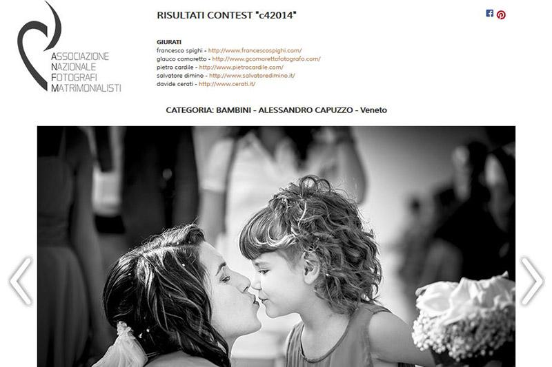 2 Awards – Contest C4 2014 ANFM Italy