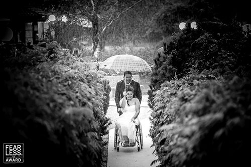 matrimonio sposa disabile carrozzina