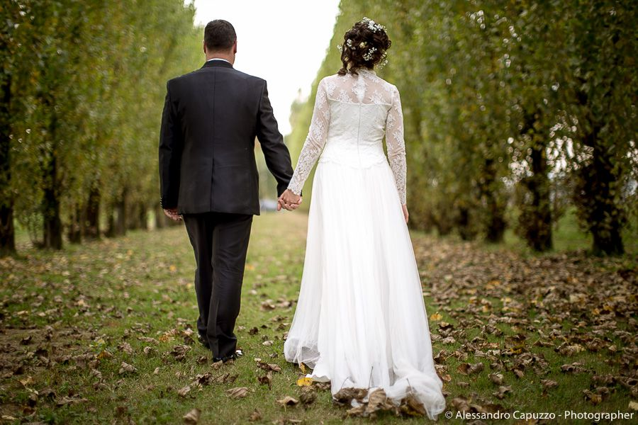 abito sposa shabby chic pizzo merletti