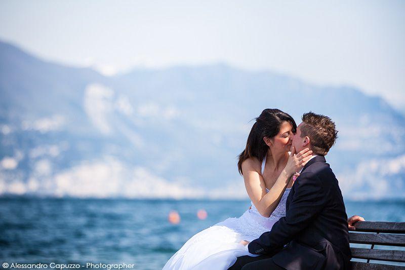 Matrimonio Isola Borghese  …un tuffo dove il Lago è più blu