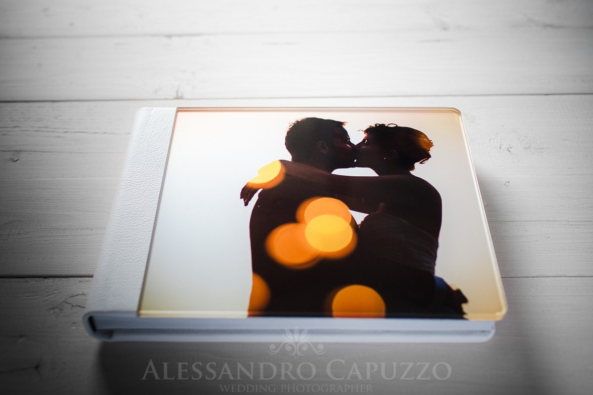FineArt Wedding Album made in Italy
