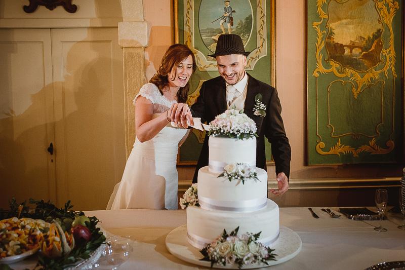 torta nuziale matrimonio Villa Pollini Luvigliano Torreglia