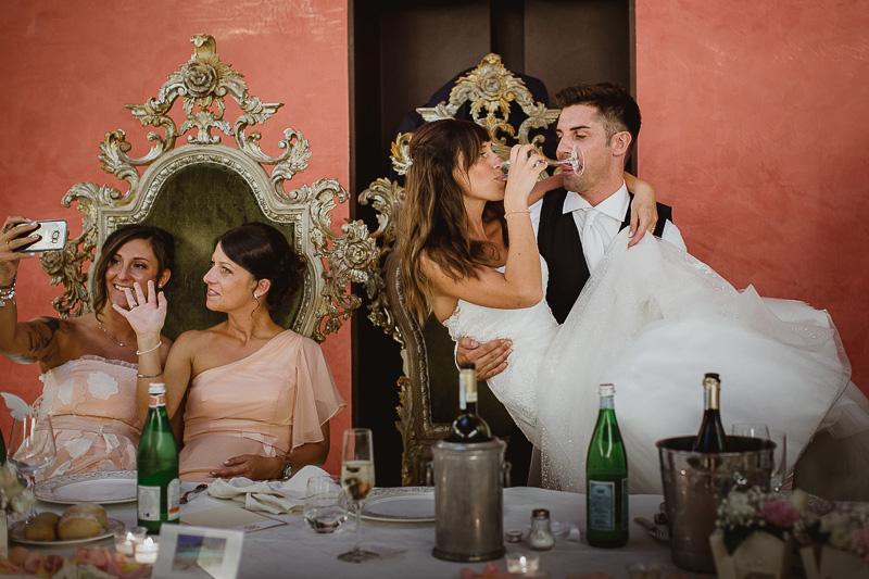 Matrimonio Castello di Bevilaqua Sala dei Troni