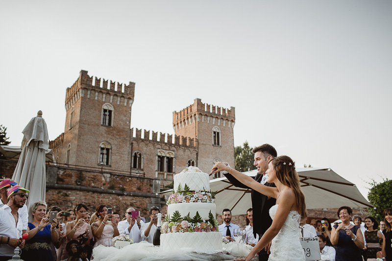 Matrimonio Castello di Bevilaqua wedding Cake