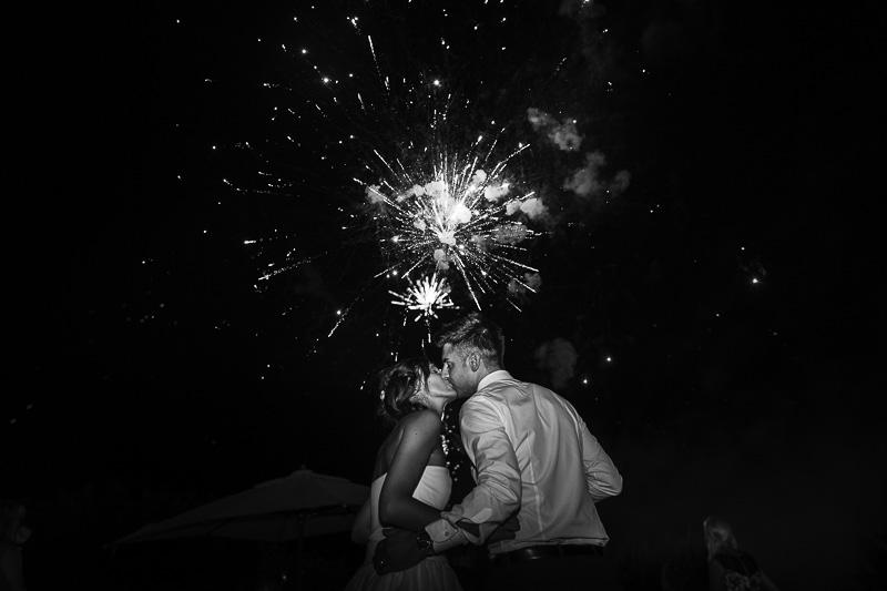 Fuochi artificio Matrimonio Castello di Bevilaqua Verona