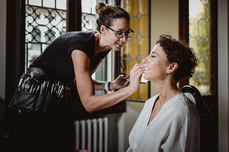 Make up Artist Wedding Treviso in Italy