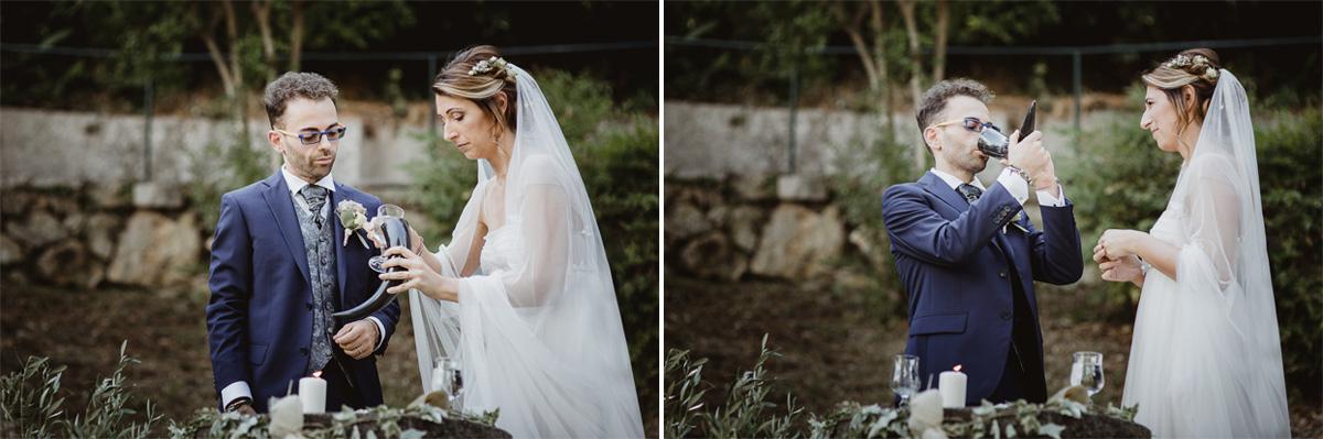 Matrimonio Boho Chic - rito Celtico