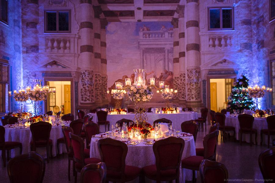 Allestimento tavoli per matrimonio Elegante-2