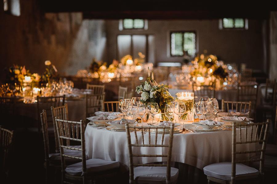 Allestimento tavoli per matrimonio Vintage