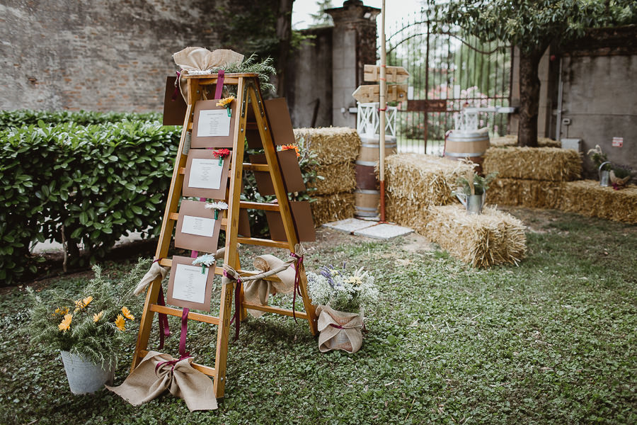 Tableau Matrimonio Country Chic : Tableau mariage temi