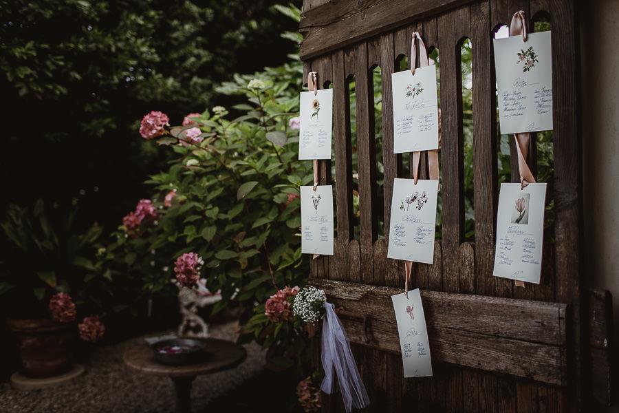 tableau mariage legno