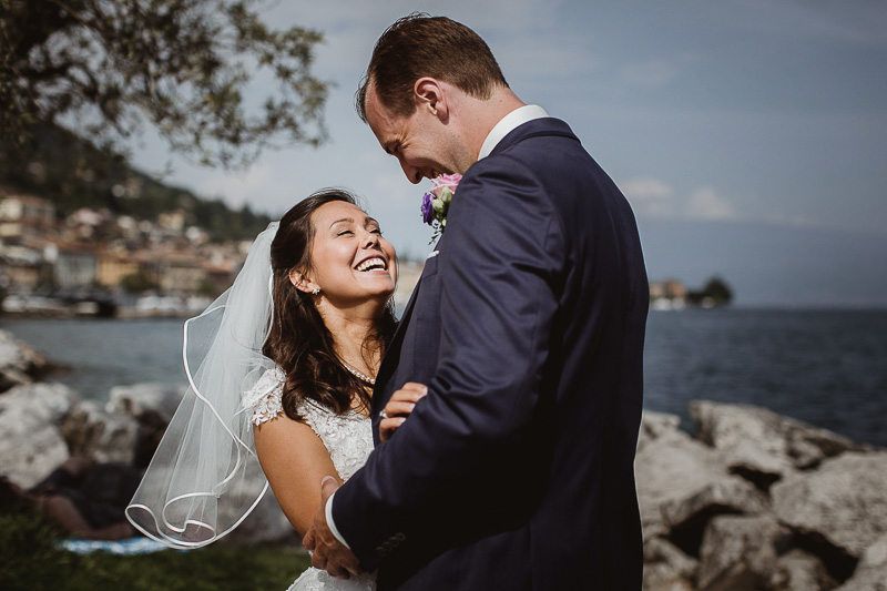 Wedding in Salò - Lake Garda<br> Nina&Martin