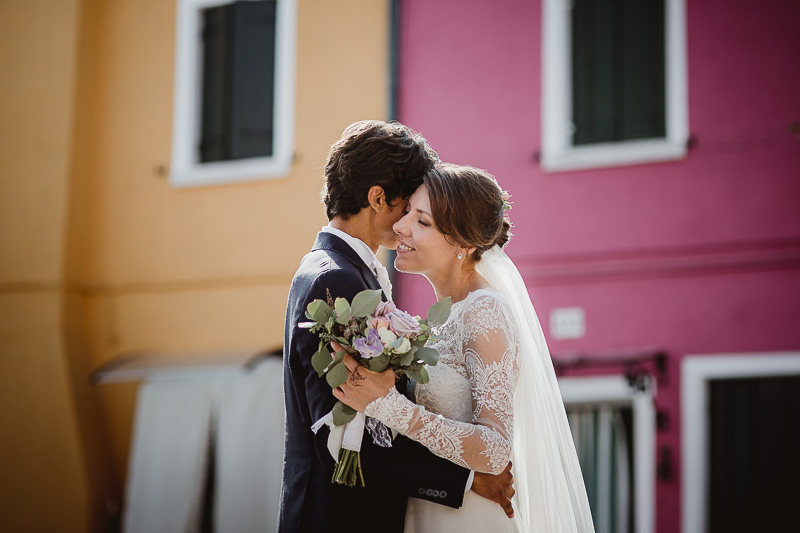 Wedding in Burano - Venice<br> Iana&Marco