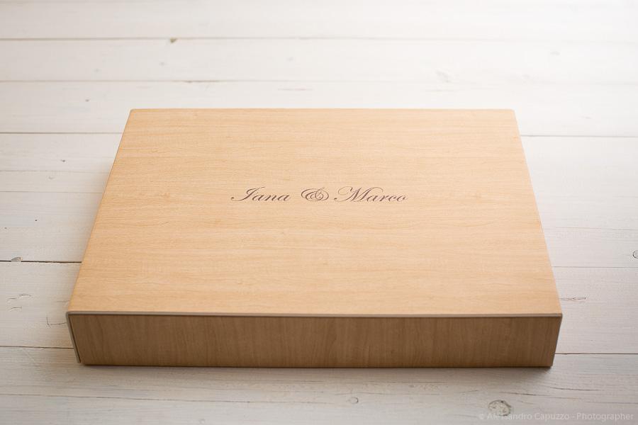 studio box acero nocciola matrimonio venezia