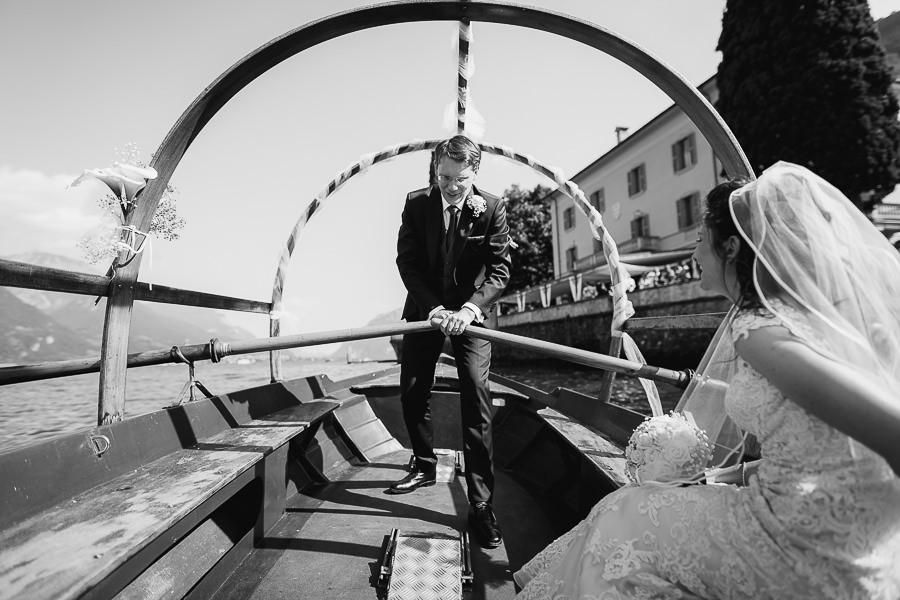 barca tipica lago di Como