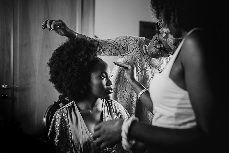 Matrimonio afro sui Colli Euganei <br>Sandrine & Johnny