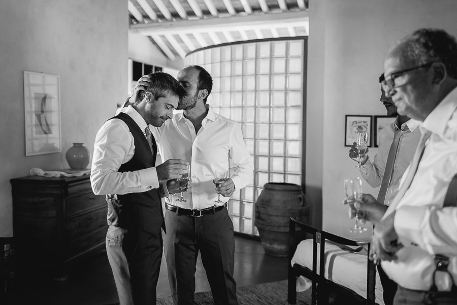 Abbazia di Spineto preparazione sposo