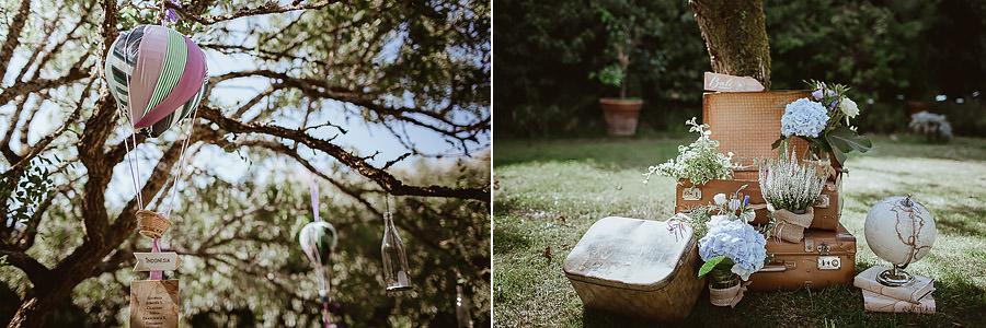 giardino Abbazia di Spineto - tableau mariage