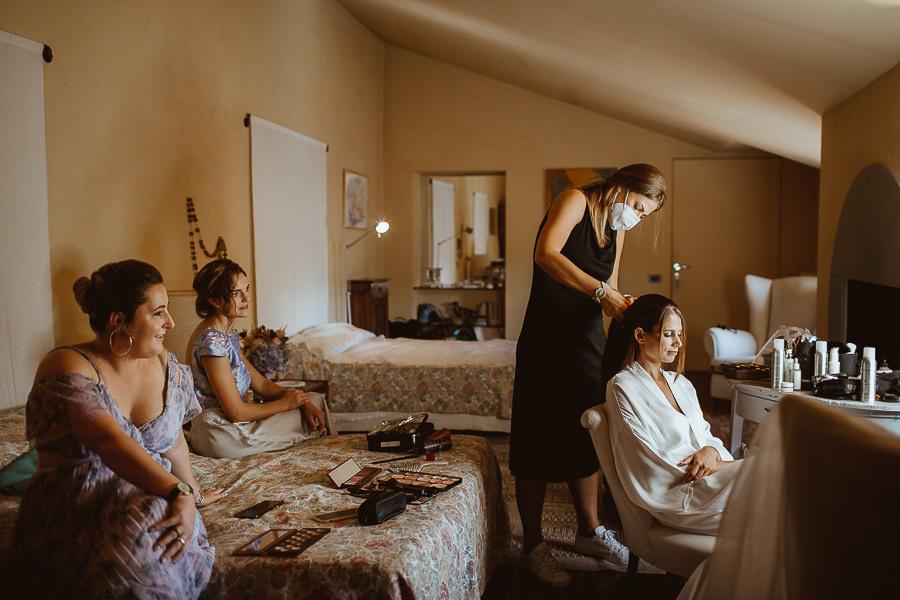 Bride Makeup - Abbazia di Spineto Sarteano