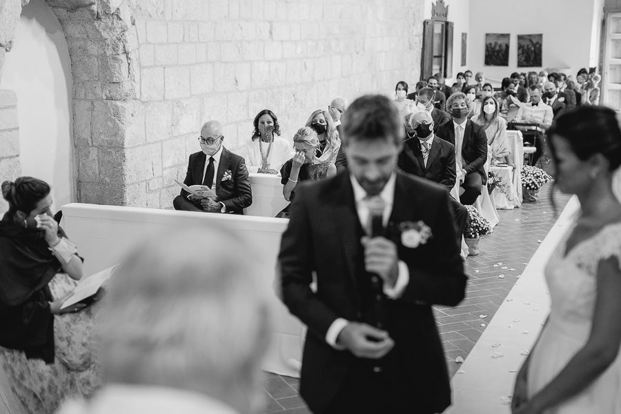 Wedding in Italy - Abbey Val d'Orcia