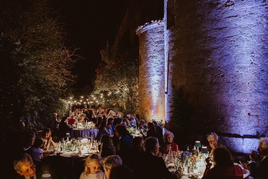 Abbazia di Spineto - Sarteano - allestimenti matrimonio